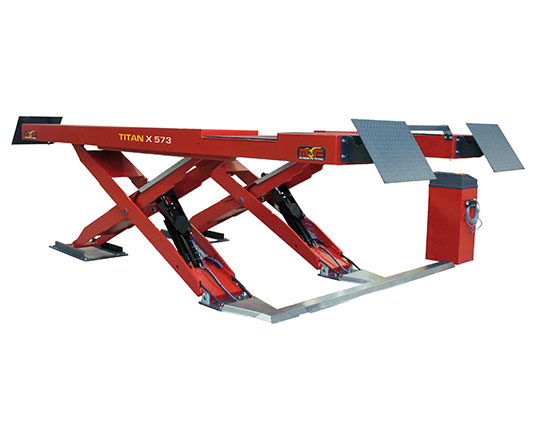 Titan X-573 Wheel Alignment Scissor Hoist